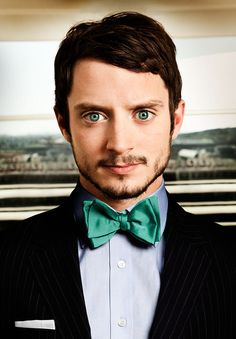 There's something very green about Elijah Wood.