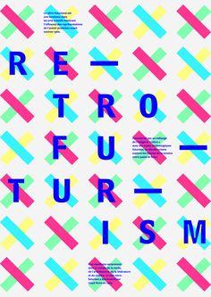 RETROFUTURISM in Christmas theme