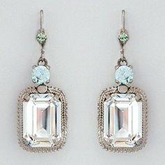Vintage style earrings.