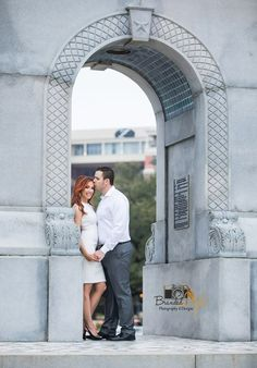 Katie & James Lox Engagement photos at Herman Park Houston, Tx. By Branded Light Photography