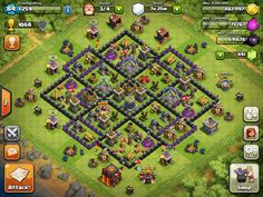 Free Apps King Clash Of Clans Village Level 84 I wont thes vilg pliss help Clash Of Clans, Free Apps, King