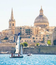 #Friday afternoon with a view of Malta's Capital City #Valletta  Featured…