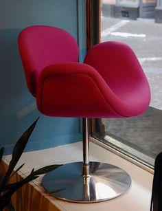 Fauteuil Tulip, design Pierre Paulin, éd. Artifort, 1980 Vevey, Pierre Paulin, Vintage Design, Armchair, Boutique, Furniture, Home Decor, Lounge Chairs, Living Room
