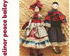 Victorian Doll Pattern Pierrot Doll Pattern ELINOR PEACE