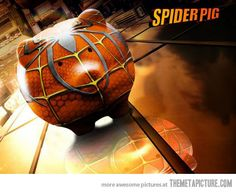 Does whatever a Spider Pig does.