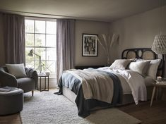 Interior, Redecorate Bedroom, Home, How To Dress A Bed, House Interior, Budget Bedroom Makeover, Guest Bedroom Decor, Interior Design, Master Bedrooms Decor