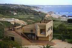 Beach House | Architecture for Metamporphoses | Chile   via : homezooka