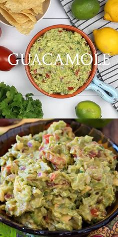 Best Guacamole Ever! Best Guacamole Ever!,A Family Feast Recipes How to make the Best Guacamole EVER! (One of our readers told us this is even better than Chipotle's guacamole! Raw Food Recipes, Mexican Food Recipes, Appetizer Recipes, Cooking Recipes, Healthy Recipes, Mexican Appetizers, Easter Recipes, Appetizer Ideas, Recipes Dinner