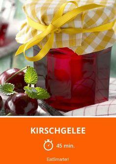 Kirschgelee - smarter - Zeit: 45 Min. | eatsmarter.de