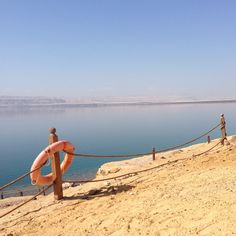 The lowest place on earth: the Dead Sea, Jordan. A scenic, gloriously hot and unique bathing experience. Just lie back and float in the healing salt water! Dead Sea Israel, Jordan Travel, Wadi Rum, The Dunes, Salt And Water, Greatest Adventure, Africa Travel, Wonders Of The World, Family Travel
