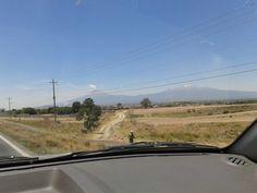 Los volcanes Popocatepetl e Iztaccihuatl