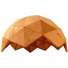 Plywood Geodesic Dome at 1stdibs