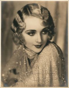 "Carole Lombard (October 6, 1908 – January 16, 1942) was an American actress. She is particularly noted for her roles in the screwball comedies of the 1930s. She is listed as one of the greatest stars of all time and was the highest-paid star in Hollywood in the late 1930s, earning more than five times the salary of the US President. ""I live by a man's code, designed to fit a man's world, yet at the same time I never forget that a woman's first job is to choose the right shade of lipstick."""