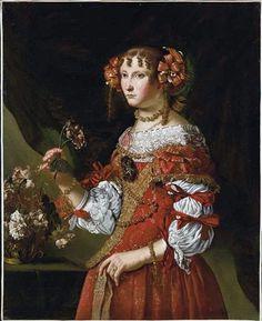Portrait of a woman by Pier Francesco Cittadini (1616-1681)