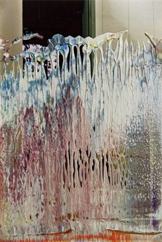 Untitled » Interiors » Overpainted Photographs » Art » Gerhard Richter Gerhard Richter, Abstract Expressionism, Abstract Art, Joseph Mallord William Turner, Contemporary Paintings, Richard Tuttle, Sculptures, Texture, Photographs