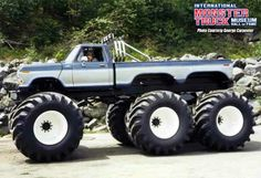 Lifted Trucks Bigger Than A Monster , Cooler Than You Think, Challenging! Lifted Trucks Bigger Than Godzilla, They Ford Pickup Trucks, Lifted Ford Trucks, Cool Trucks, Big Trucks, Big Monster Trucks, Monster Mud, Redneck Trucks, 6x6 Truck, Godzilla