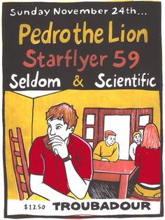 Pedro The Lion - Starflyer 59 - Seldom - Scientific