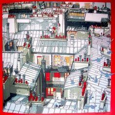 Carré: Les toits de Paris