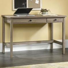 County Line Writing Desk in Salt Oak | Nebraska Furniture Mart