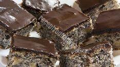 Susedkina rychlovka: Skvelý makový koláč s čokoládovou polevou - Recepty od babky Healthy Cookies, Food And Drink, Recipes, Kitchens, Healthy Biscuits, Rezepte, Recipe, Cooking Recipes