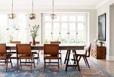 8 Ways to Rock a Rustic Farm Table in Your Home via @MyDomaine