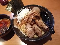 -Ramen ABURI- This is an addictive taste.   Special spicy noodle $ 9.80 http://alike.jp/restaurant/target_top/1096359/
