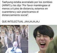 Bts Bangtan Boy, Bts Taehyung, Bts Boys, Bts Jungkook, Seokjin, Hoseok, Namjoon, Memes Lindos, Army Memes