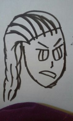 I TRIED TO DRAW ELSA BUT IT TURNED INTO GERMANY