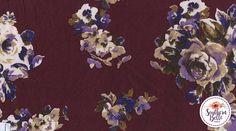 Elizabeth Floral Print #SouthernBelleFabrics