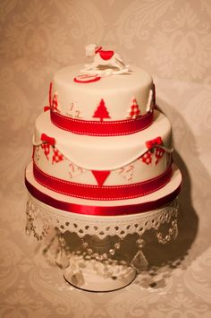 Christmas Cake by The Cute Cupcake Company