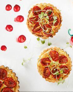 Tomaatti-tartaletit