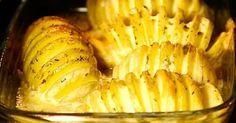 Fächerkartoffeln schmecken super als Beilage zu Fleisch oder Salat. Sie werden schön knusprig und sind mit wenig Aufwand gemacht...