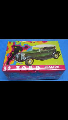 '32 Ford Phaeton model kit box art