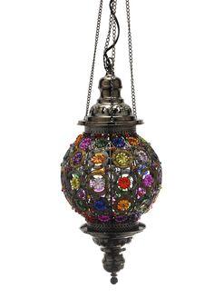 Moroccan Market Multi Colour Hanging Lamps