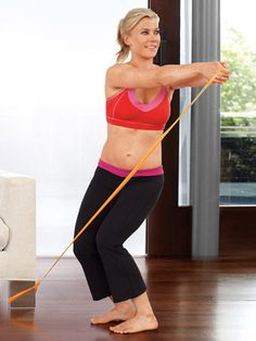 Got time to watch TV? Then you have time to tighten and tone with our eight easy flab-fighting moves.