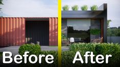 Shipping Container Home - 300 sq ft (28 sq/m)