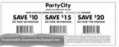 Party City Coupons Ends of Coupon Promo Codes MAY 2020 ! When grandma's your deserving parties splendid where we Party creating . Kfc Coupons, Pizza Coupons, Free Printable Coupons, Printable Party, Papa Johns Coupon Code, Godfathers Pizza, How To Know, How To Get, Boston Market