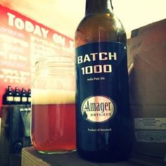 Batch 1000 by Amager Bryghus - big woody bitter edge on their 1000th  #amager #1000 #ipa #craftbeer