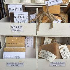 Soaps from Ren Fryd Make Blog, Soaps, Place Cards, Lime, Place Card Holders, Bath, Coffee, Food, Hand Soaps