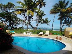 Cabarete Villas & Townhouses - GREATLY REDUCED - Adorable family house on a beautiful beach