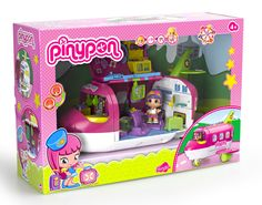 Pinypon Doll Airplane: Amazon.co.uk: Toys & Games