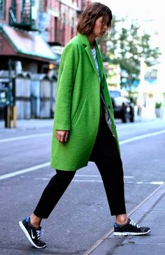 sneakers street style sporty chic