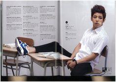 InStyle and MAXIM Korea Magazine