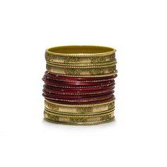 Liquidationprice.com - Bangle Bracelet Sets of 24. Confetti Rectangle Maroon, $3.00 (http://www.liquidationprice.com/bangle-bracelet-sets-of-24-confetti-rectangle-maroon/)