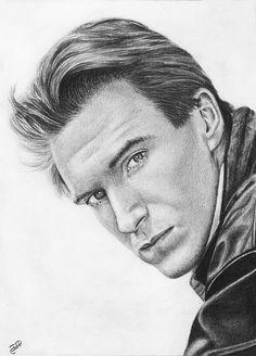 Ralph Fiennes Original Pencil Drawing Actor Celebrity Portrait Graphite Realism #Realism