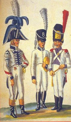 HOLLAND 1806-1810 , Band of 8th Infantry Regt.