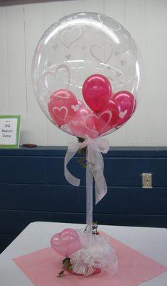 I love stuffed balloons!