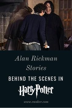 Stories About Alan Rickman From Behind The Scenes Of 'Harry Potter' Harry Potter Half Blood, Harry Potter Death, Harry Potter Facts, Harry Potter Fan Art, James Potter, Snape And Hermione, Snape And Lily, Harry Potter Severus Snape, Alan Rickman Severus Snape