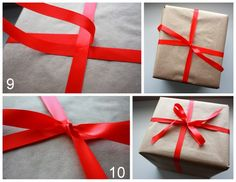 present wrapping idea