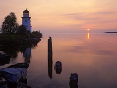 Cheboygan Crib Lighthouse